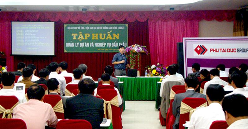 Khóa học quản lý dự án, tập huấn Quản lý dự án tại Hà Tĩnh