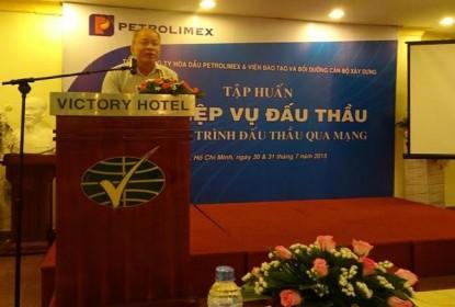 Khai giảng khóa học đấu thầu qua mạng TCTy Petrolimex-tại TP.HCM